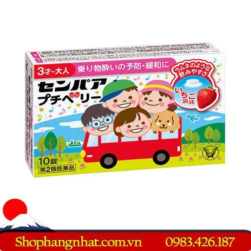 Thuốc say tàu xe trẻ em Senpa Petit perry chính hãng