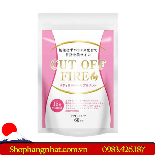 Viên Uống Cut Off Fire Nhật Bản Cấp Tốc