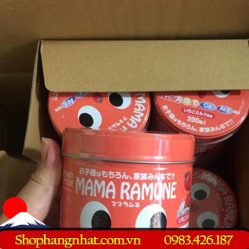 Kẹo biếng ăn Mama Ramune Nhật Bản ăn ngon 300 viên
