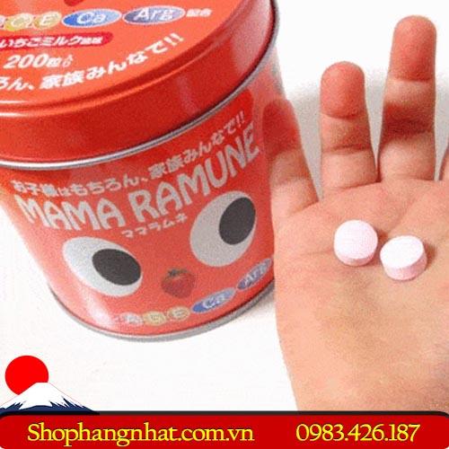 Kẹo biếng ăn Mama Ramune Nhật Bản