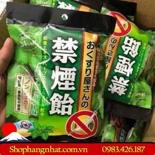 Kẹo cai thuốc lá thảo mộc 70g