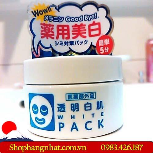 Mặt nạ ủ trắng WhitePack Ishizawa Nhật Bản trắng da 130g
