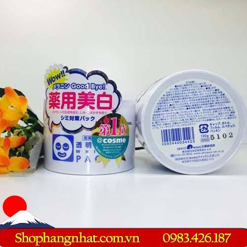 Mặt nạ ủ trắng WhitePack Ishizawa Nhật Bản trắng da