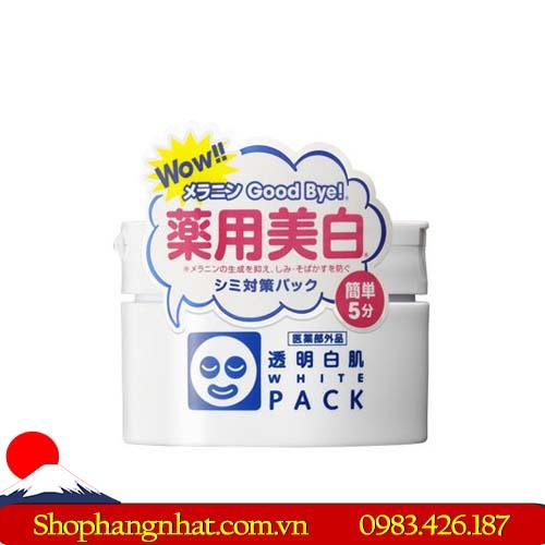Mặt nạ ủ trắng WhitePack Ishizawa trắng da