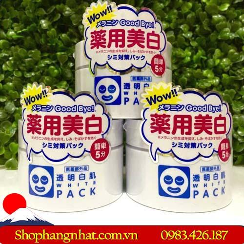 Mặt nạ ủ trắng WhitePack Ishizawa