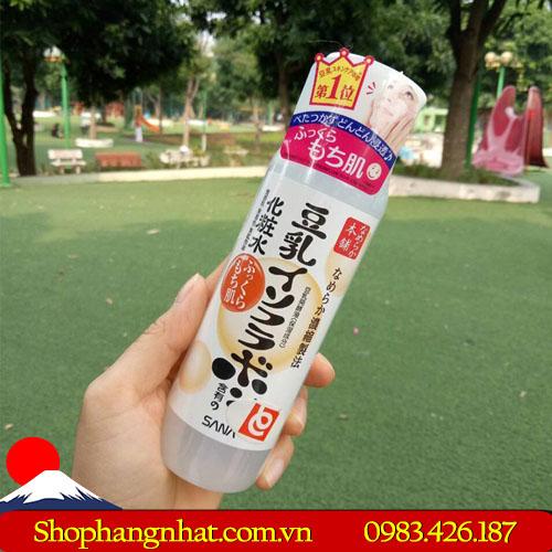 Nước hoa hồng đậu nành Nhật Bản dưỡng ẩm da