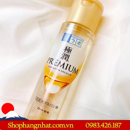 Nước hoa hồng Hada Labo Gokujyun Premium Hyaluronic Acid dưỡng ẩm đặc biệt