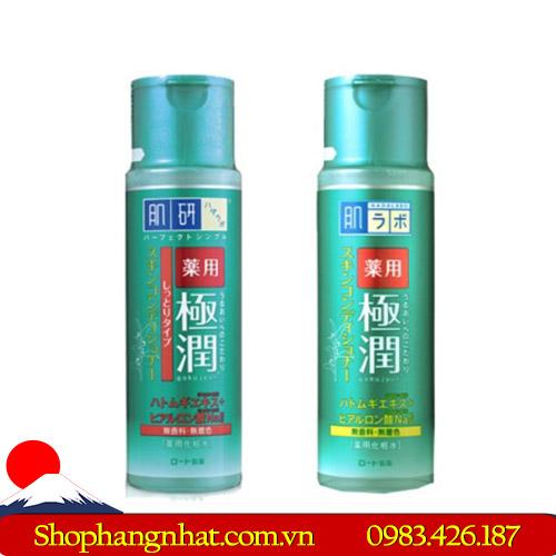 Nước hoa hồng Hada Labo Super Hyaluronic Acid Lotion Nhật Bản 170ml