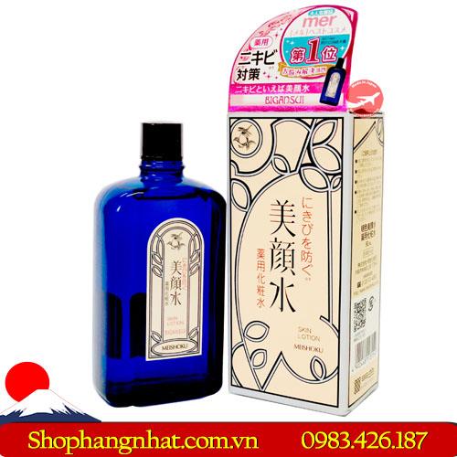 Nước hoa hồng Meishoku Bigansui Medicated Skin Lotion Nhật Bản 90ml