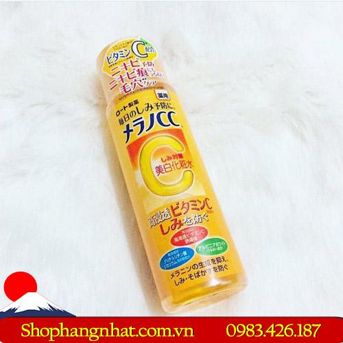 Nước hoa hồng Rohto Melano CC Lotion Rohto Nhật Bản vitamin C