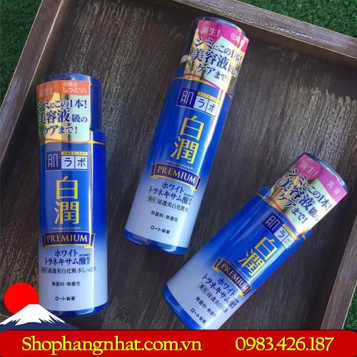 Nước hoa hồng Shirojyun Premium Whitening Lotion Nhật Bản trắng da