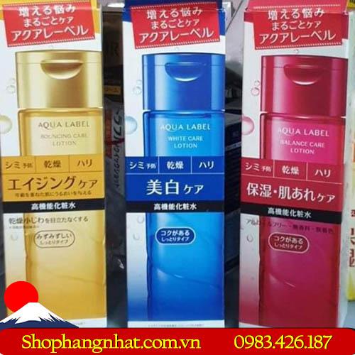 Nước hoa hồng Shiseido Aqualabel Lotion Nhật Bản 200ml
