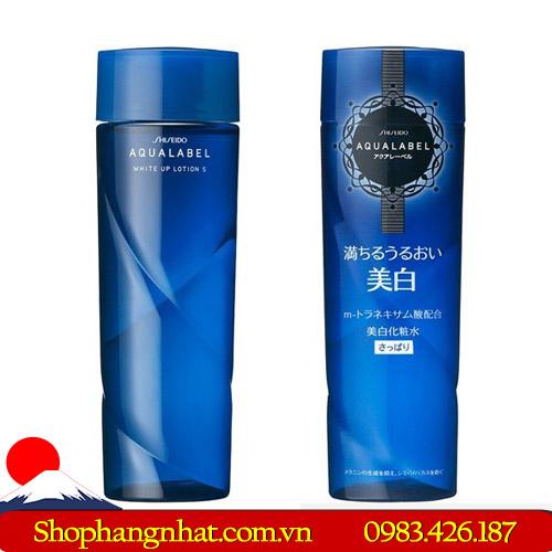 Nước hoa hồng Shiseido Aqualabel Lotion xanh