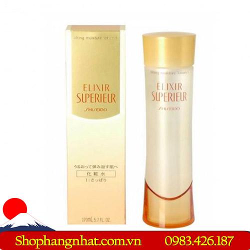 Nước hoa hồng Shiseido Elixir Superieur Lifting Moisture