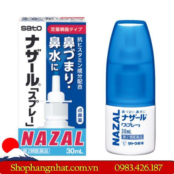 Thuốc Xịt mũi Nazal Sato