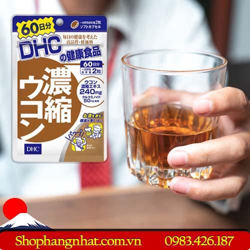 Viên uống giải rượu DHC Nhật Bản chính hãng 120 viên
