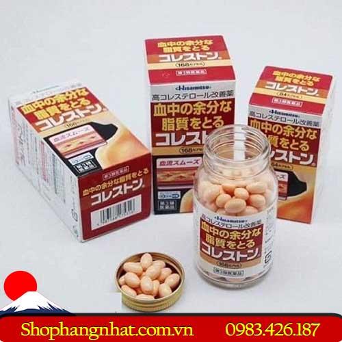Viên Uống Giảm Mỡ Máu Cholesterol Hisamitsu 168 viên