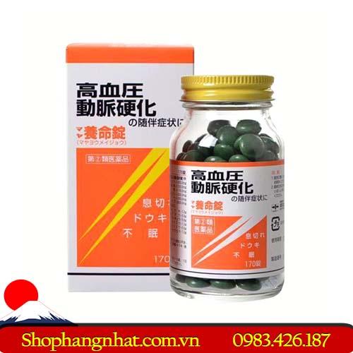 Viên uống phòng chống xơ vữa động mạch Maya Yomeijyo Nhật Bản chính hãng