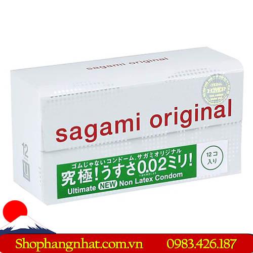 Bao Cao Su Sagami Original 002 Mỏng