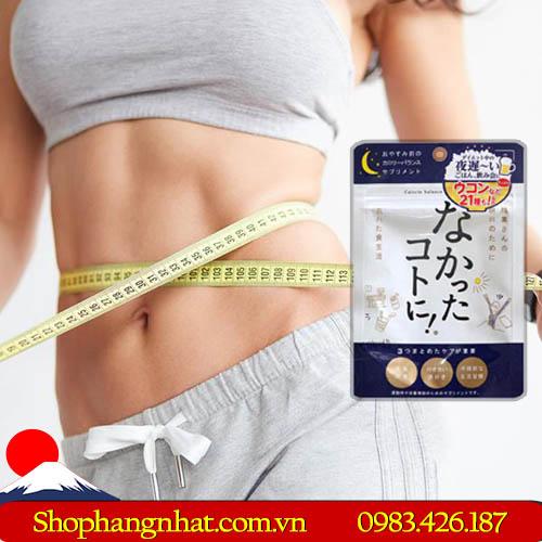 Enzyme giảm cân Nakatta Kotoni Nhật Bản ban đêm 30 viên