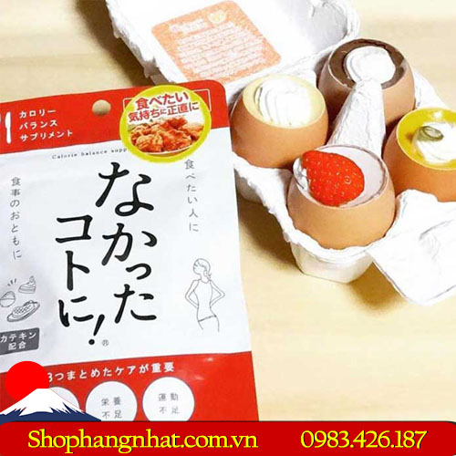 Enzyme giảm cân Nakatta Kotoni Nhật Bản ban ngày 120 viên