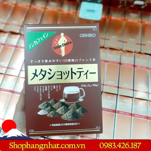 Trà Giảm Cân Meta Shot Tea Orihiro 2019