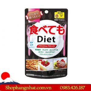 Viên uống Giảm Cân Itoh Diet hiệu quả 180 viên