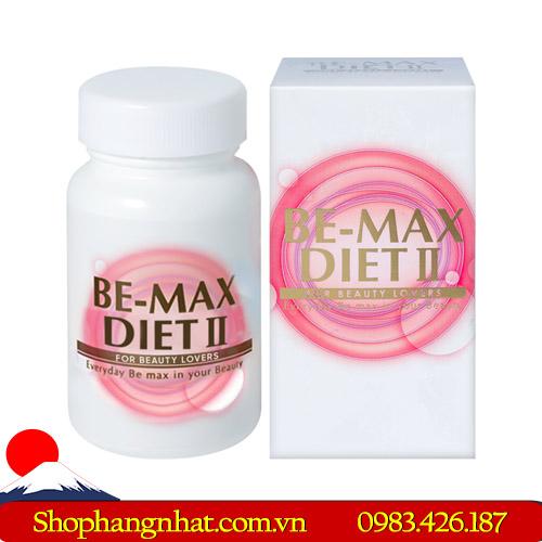 Viên uống hỗ trợ giảm cân Be-Max Diet II chính hãng 2019