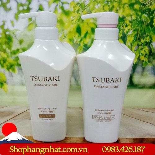 Dầu gội Shiseido Tsubaki trắng Nhật Bản tốt cho tóc