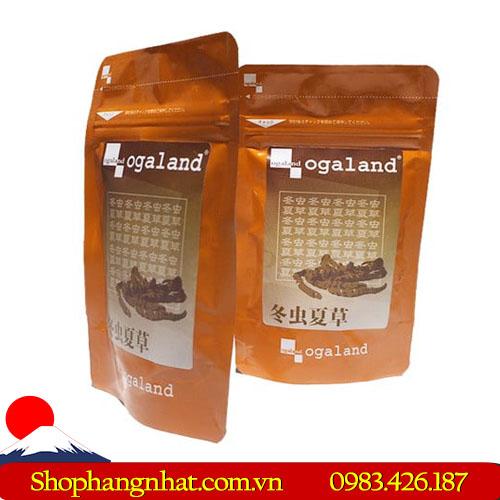 Đông trùng hạ thảo Ogaland Nhật Bản chính hãng 90 viên