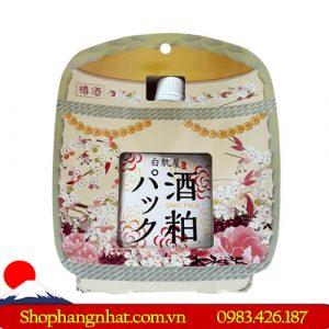 Mặt nạ bã rượu Kasu Face Pack dưỡng ẩm túi 33 miếng