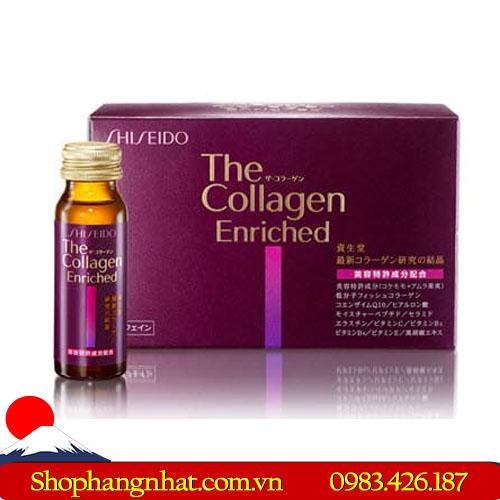 Nước uống Collagen Shiseido Enriched Nhật Bản 50ml