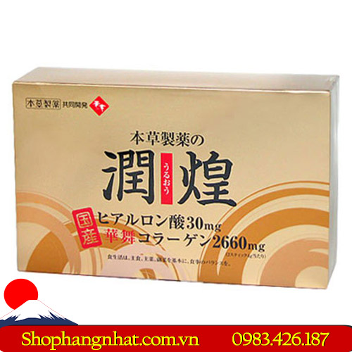 Sản phẩm Collagen Hanamai Gold 60 gói