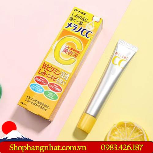 Serum Trị Thâm Vitamin C Melano Cc Rohto Nhật Bản giữ ẩm