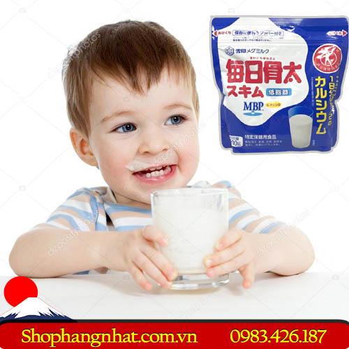 Sữa bột CANXI MEGUMIRUKU MBP tăng chiều cao 200g