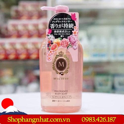 Sữa tắm Macherie Shiseido Body Nhật Bản trắng da