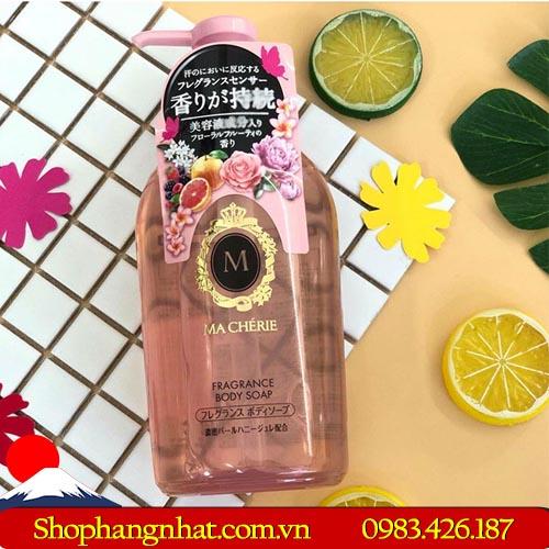 Sữa tắm Macherie Shiseido Body Nhật Bản