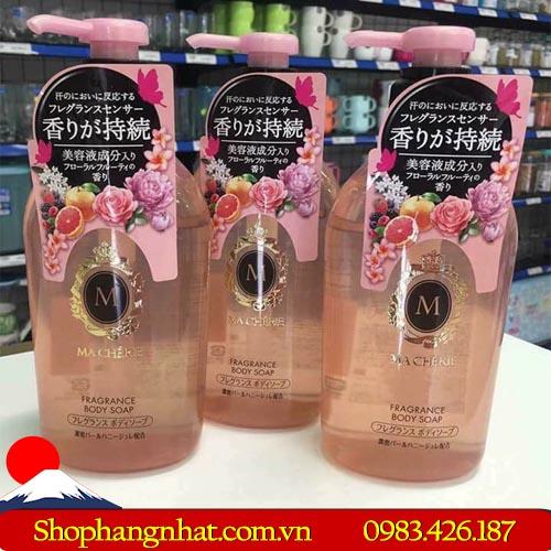 Sữa tắm Macherie Shiseido Body