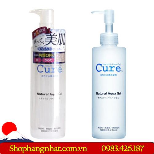 Tẩy tế bào da chết Cure Natural Aqua sạch da