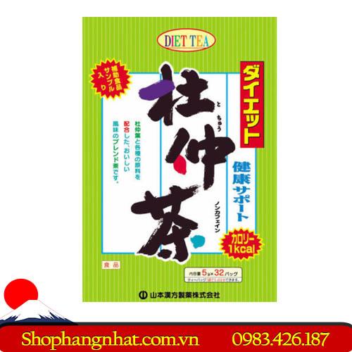 Trà giảm cân Yamamoto Oriental Diet Tochuu Tea Nhật Bản chính hãng