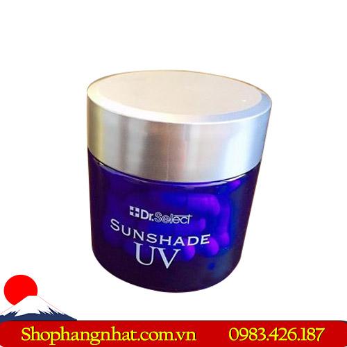 Viên thuốc chống nắng cao cấp Dr Select Sunshade UV dưỡng ẩm dưỡng trắng da