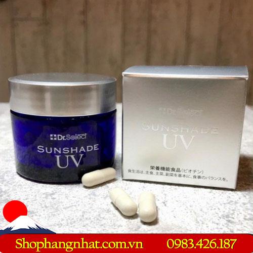 Viên thuốc chống nắng cao cấp Dr Select Sunshade UV