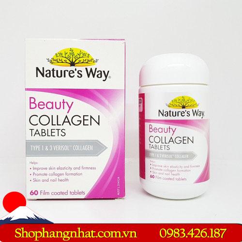 Viên uống Beauty collagen trẻ hoá làn da