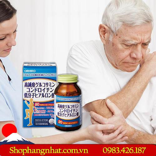 Viên uống bổ xương khớp Glucosamine Chondroitin Hyaluronic Acid