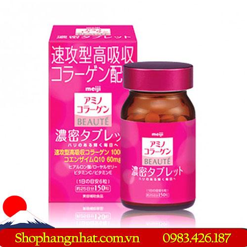 Viên uống Collagen Meiji Beaute Nhật Bản chống lão hoá