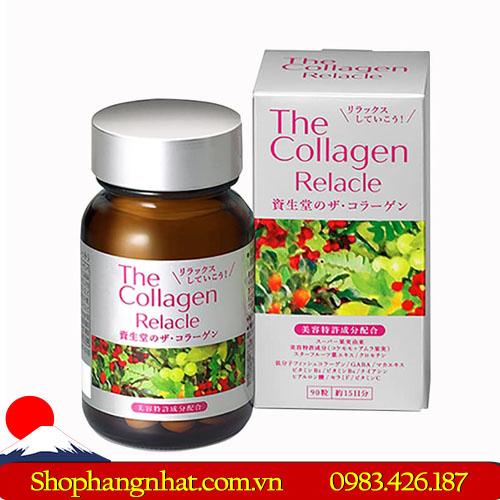 Viên uống Collagen Relacle Shiseido vị trái cây 90 viên
