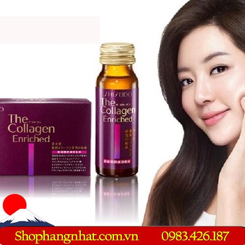 Viên uống Collagen Shiseido Enrich Dạng Viên
