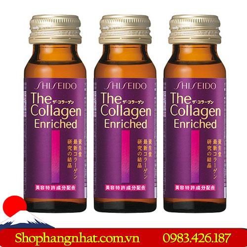 Viên uống Collagen Shiseido Enrich Nhật Bản