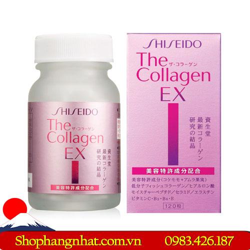 Viên uống Collagen Shiseido EX Nhật Bản