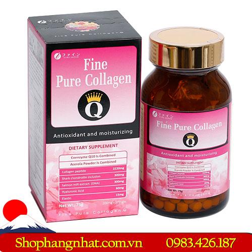 Viên uống Fine Pure Collagen chống lão hóa 375 viên